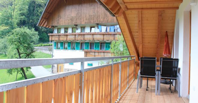 Bildslider: Wohnung DG - Balkon-1
