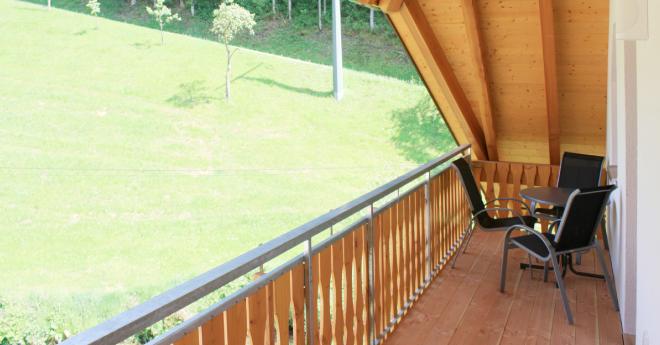 Bildslider: Wohnung DG - Balkon-2