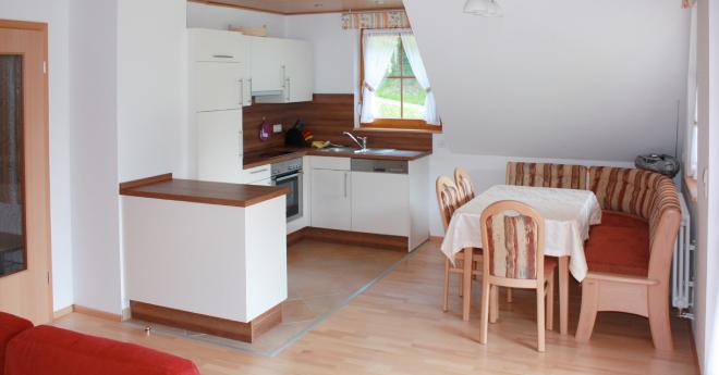 Bildslider: Wohnung DG - Küche