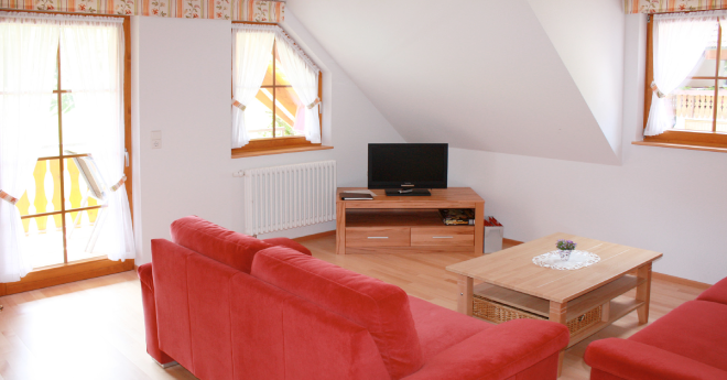 Bildslider: Wohnung DG - Wohnzimmer