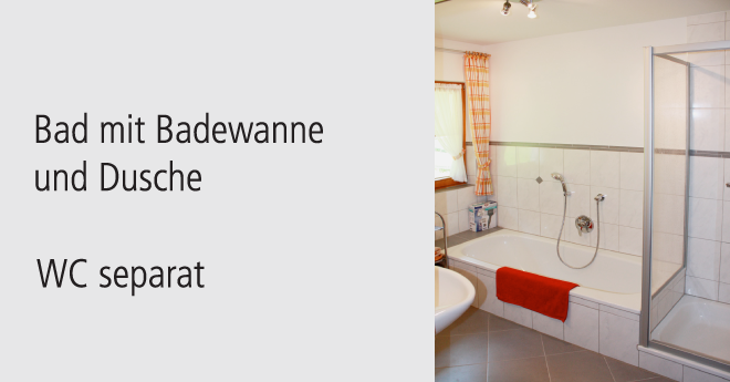 Bildslider: Wohnung EG - Bad