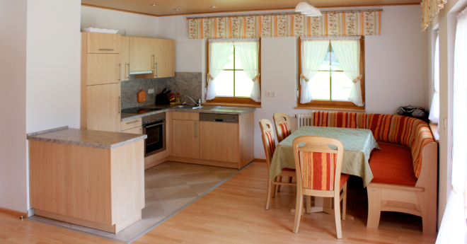 Bildslider: Wohnung EG - Küche